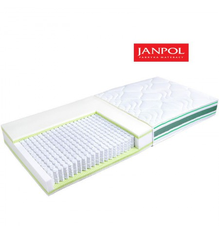 JANPOL ERATO - materac multipocket, sprężynowy
