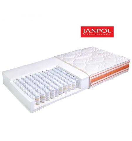 JANPOL NUTA - materac kieszeniowy, sprężynowy
