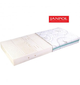 JANPOL NYKS - materac lateksowy, piankowy