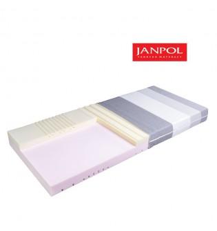 JANPOL AURORA - materac termoelastyczny, piankowy