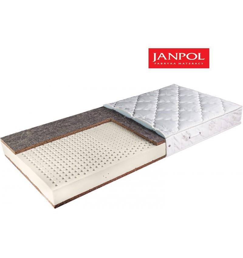 JANPOL ZEUS - materac lateksowy, piankowy