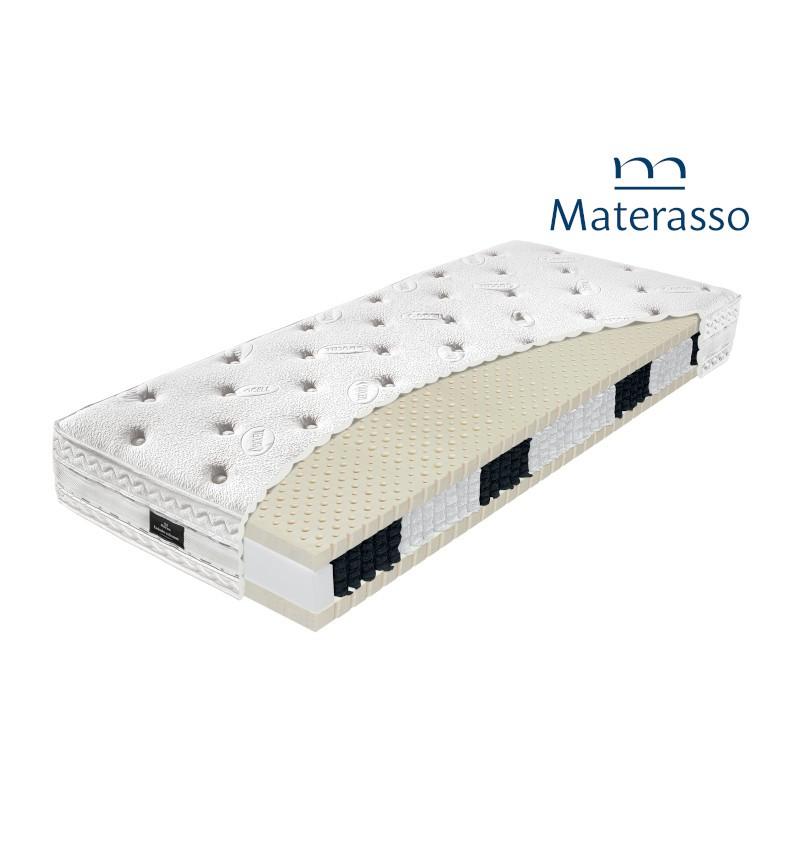 MATERASSO AMERIKA - materac kieszeniowy, sprężynowy