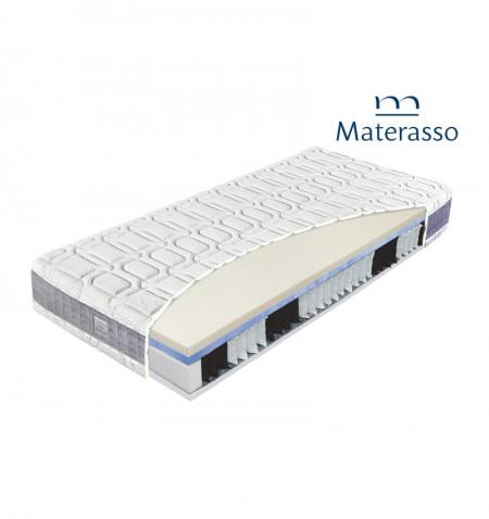 MATERASSO HYBRID OXYGEN - materac kieszeniowy, sprężynowy