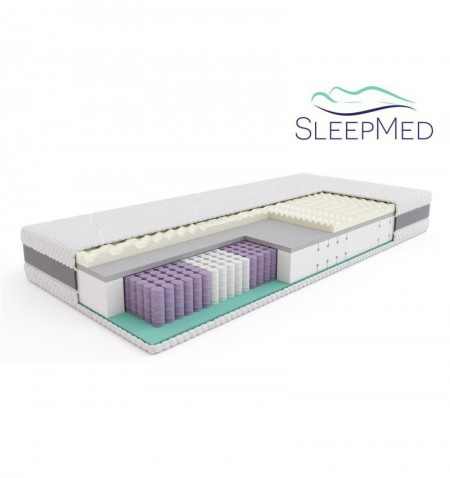 SLEEPMED HYBRID PREMIUM 160X200 - OUTLET