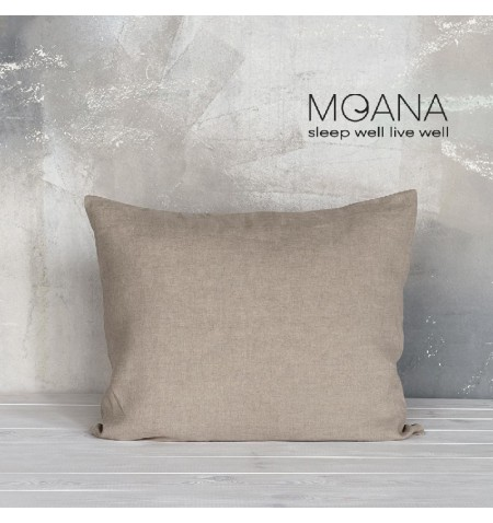 Poszewka na poduszkę lniana MOANA Pure