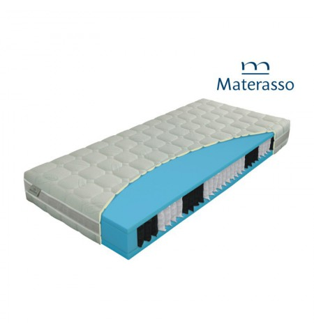 MATERASSO LAVENDER BIO EX - materac kieszeniowy, sprężynowy